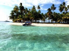 Day trip to the San Blas islands in Panama