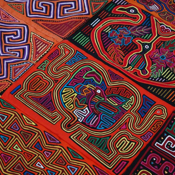 11Mola, the traditional textile craft of the San Blas Islands in Panama