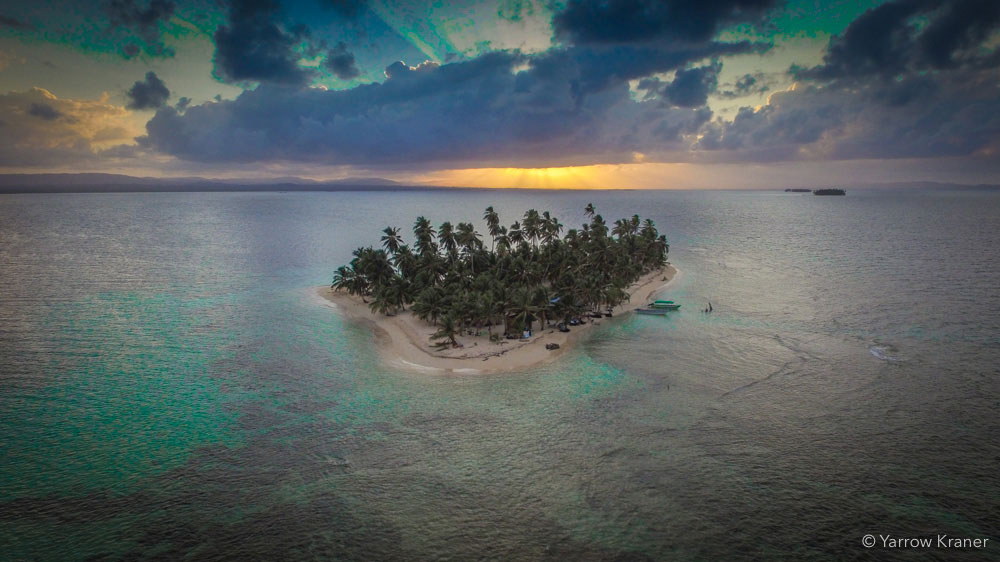 11Sunset on Isla Iguana, San Blas Islands