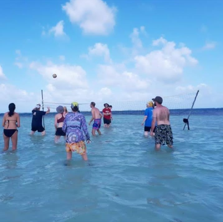 11Playing Volleyball on Miriyadup Island, San Blas Islands, Panama