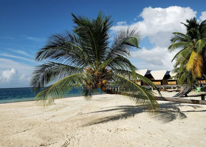 Wailidup Island in the San Blas Islands, Panama