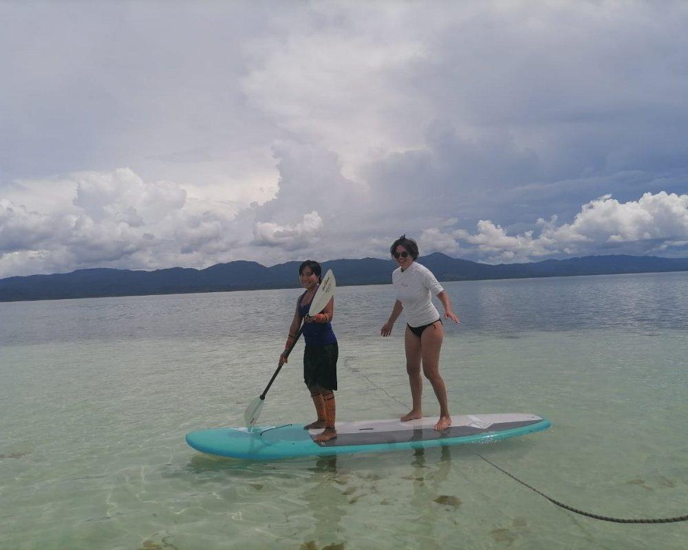 11Stand-Up Paddling on Miriyadup Island, San Blas Islands, Panama