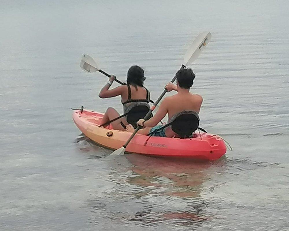 11Kayaking on Miriyadup Island, San Blas Islands, Panama