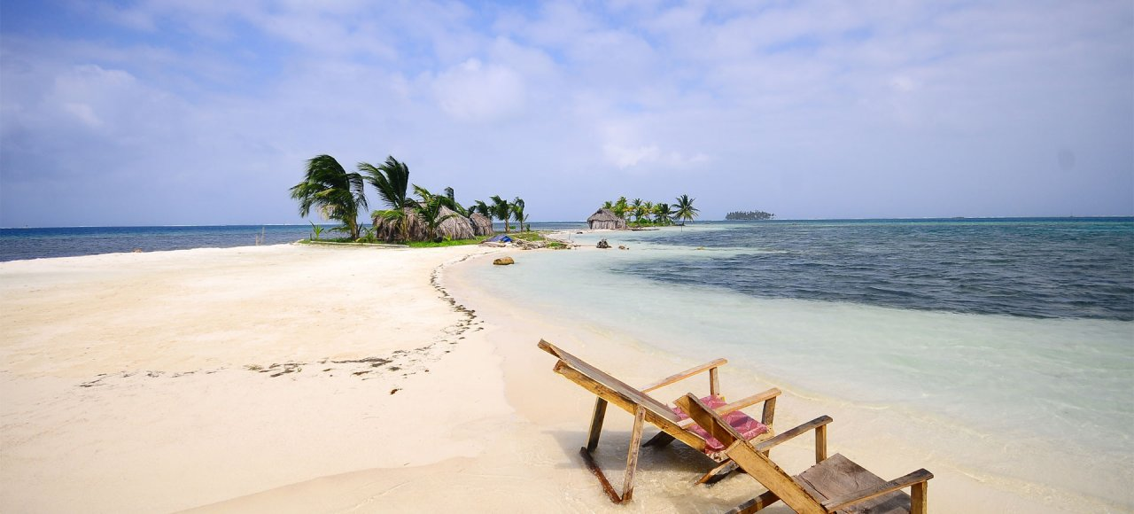 11Relaxing on the beach (Banedup Island, San Blas Islands Panama)